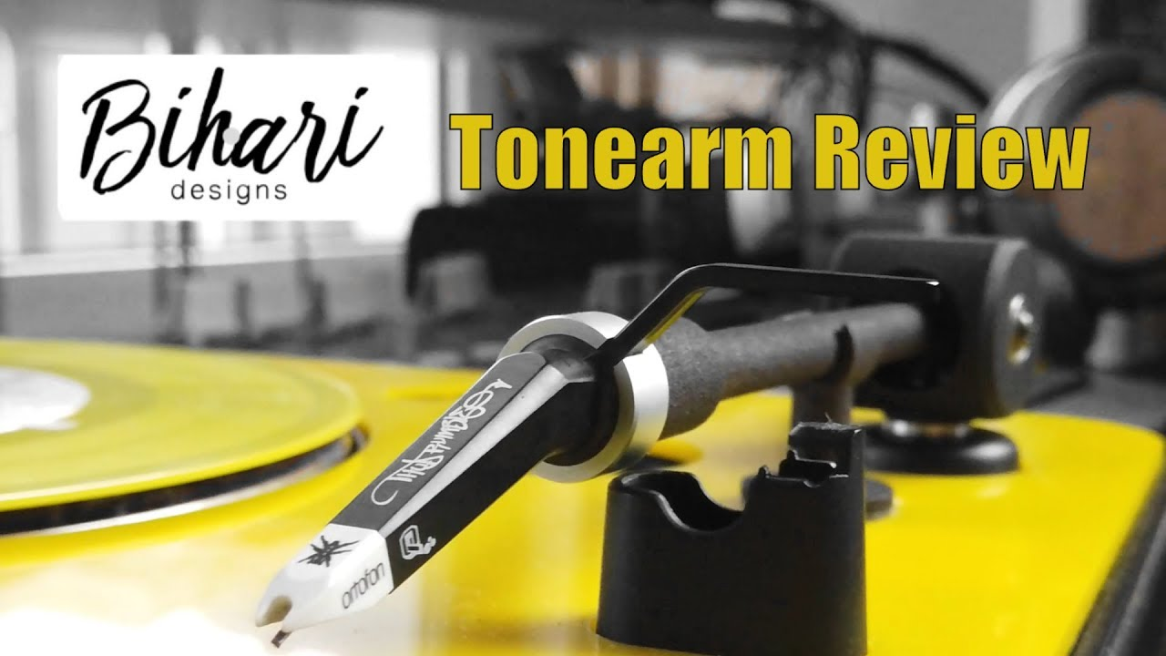 Bihari Tonearm Review - The best tonarm for your portable turntable!!