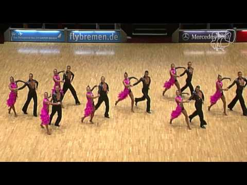 Double V A, NED | 2014 World Formation Latin | DanceSport Total