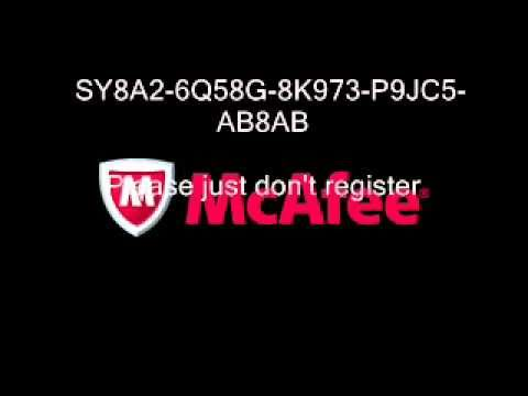 where to find mcafee serial number