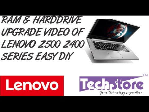 Lenovo Z400 Z500 How To Upgrade Ram Memory Harddrive And Replace Battery Keyboard Easy DIY
