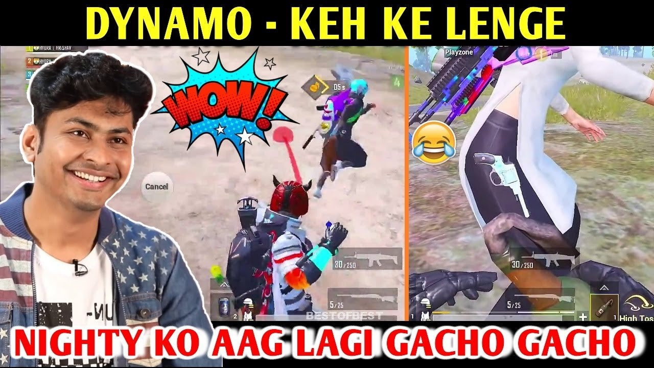 DYNAMO - KEH KE LENGE | PUBG MOBILE | BEST OF BEST