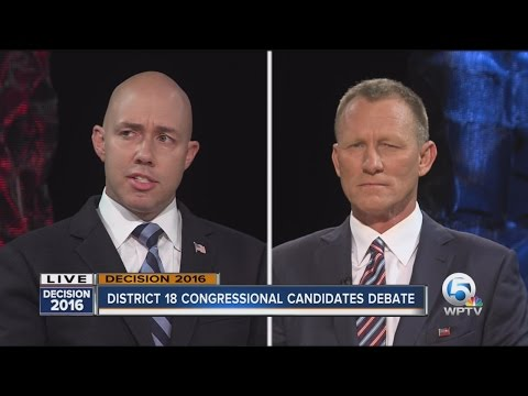 Congressional District 18 Debate: Brian Mast, Randy Perkins, Carla Spalding face off
