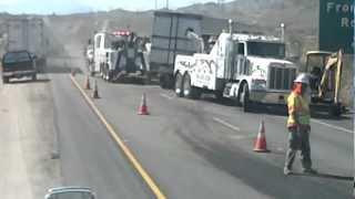 Truck wreck chiriaco summit 9/20/12