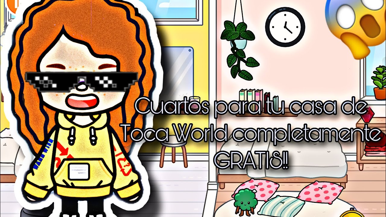 4 ideas para tus cuartos en TOCA WORLD completamente GRATIS!!!!