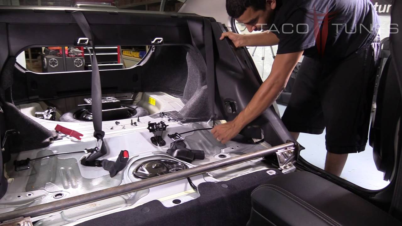 2011 toyota corolla back seat removal
