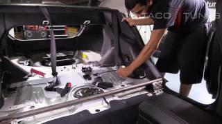 How to remove rear deck dash speakers in Toyota Corolla 2012 - 2016