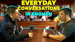 Conversación en Inglés del uso diario | English listening class!