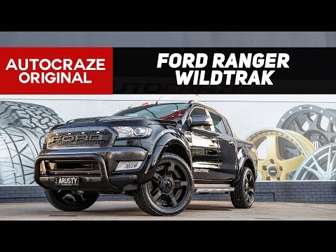 ⭐ RUSTY ROCKSTAR RANGER ⭐ | Ford Ranger wheels, tyres, 4x4 accessories | AutoCraze 2017