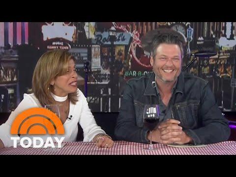 Blake Shelton Is Hoda Kotb's Co-Host Live In Nashville | TODAY