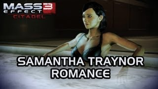 Repeat youtube video Mass Effect 3 Citadel DLC: Samantha Romance (All scenes)