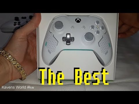 Sport White Controller xbox one x unboxing  #kw #dsgs