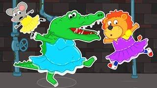 Lion Family Official Channel | Rat's Lair. Crocodile Bubbles | Cartoon for Kids