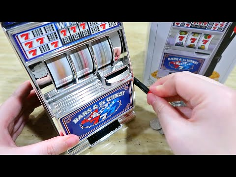 Interesting Saving Bank Slot Machine Money Box