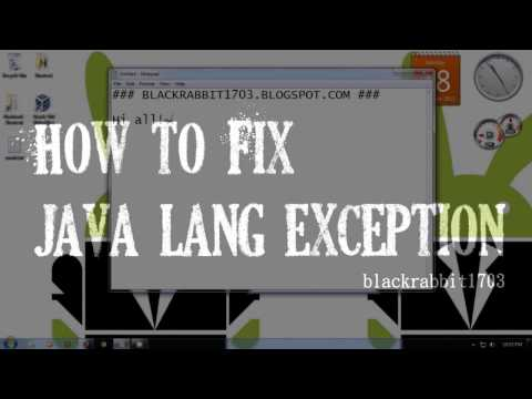 How To Fix Java Lang Exception In Sending Request Null From Oracle On Windows 7
