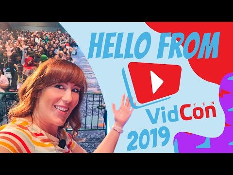 My Vidcon 2019 Vlog and VIP/Speaking Experience!