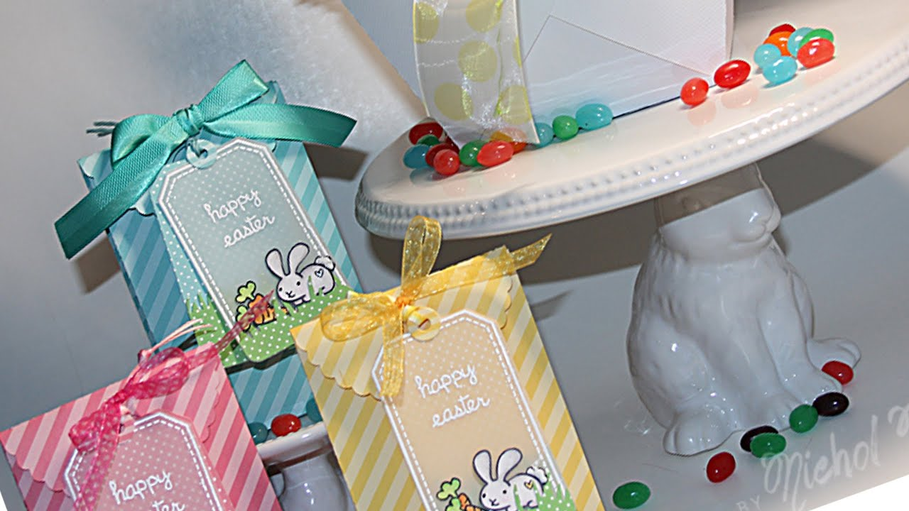 Easter treat bags and decor diy youtube negle Image collections