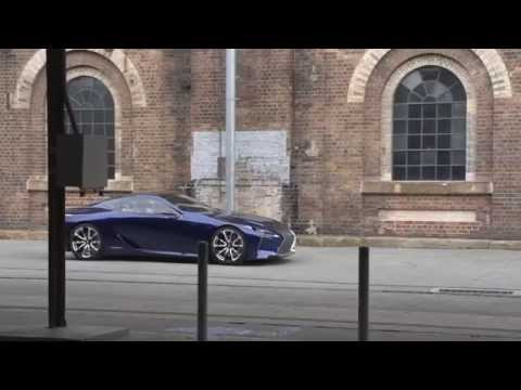 Blue Lexus LF-LC for the Australian Motor Show - 500hp hybrid