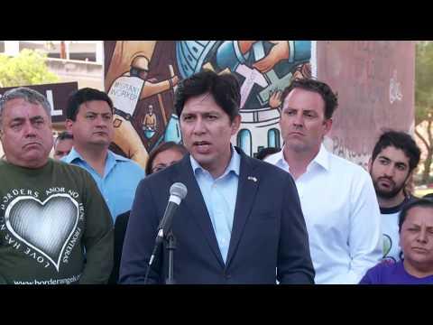 Senator de León Press Conference: New Study Shows Sanctuary Policies Make Communities Safer