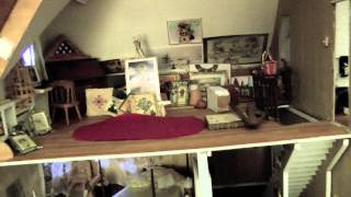 Cute Doll House Tour By Aline Part One.