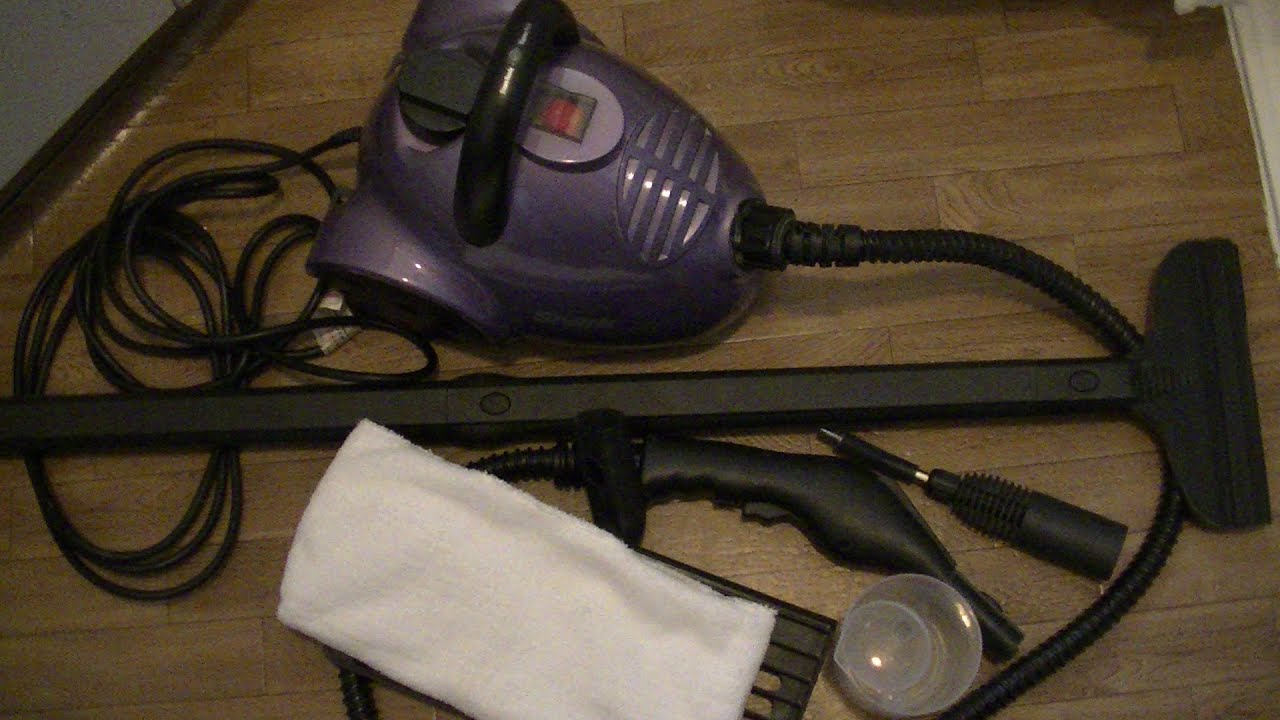 Steam Cleaner Review And Demo Steamcleaner Youtube