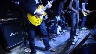 """3/3 Pizza Quick Band """"Still Got The Blues"""" (Gary Moore) 5 maart 2016 LIVE @ Bluescafe Apeldoorn NL"""