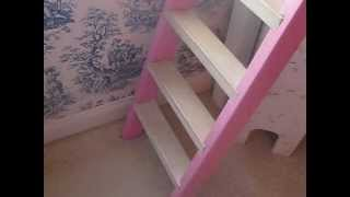 Custom Princess Castle Loft Bed For Sale