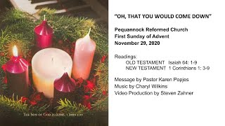 Pequannock Reformed Church Live Stream - First Sunday of Advent