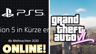 Die Playstation 5 ist Offiziell Online! So könnte GTA 6 aussehen! (GTA 5 Mods)