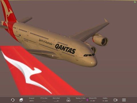 Infinte Flight - Qantas QF11 YSSY-KLAX