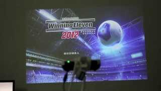 Mini LED Pocket Projector 3D ready 720P 1280 * 800 700 lumens brightness review