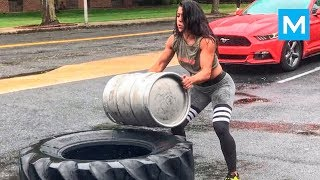 Wonder Woman in Real Life - Heba Ali   Muscle Madness