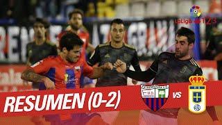 Resumen de Extremadura UD vs Real Oviedo (0-2)