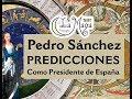 Pedro Sánchez - Predicciones como presidente de España