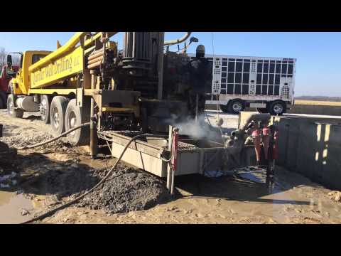 Quinter Well Drilling LLC., Drilling a Commercial Water Well