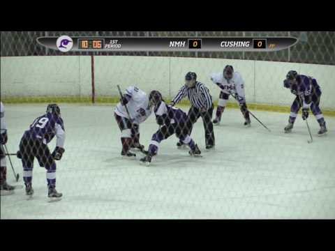 Cushing Academy - Watkins Tournament: Varsity Boys Hockey vs. Northfield Mount Hermon School