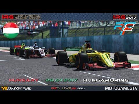 IRG Formula 2017 – Hungaroring – R10 – rFactor 2
