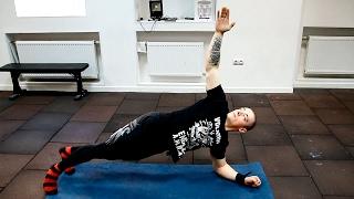 Как укрепить мышцы спины дома! Комплекс упражнений(Три упражнения, которые прокачают ваш пресс - https://www.youtube.com/watch?v=PI5cQQtLCn8 Понравился ролик, подпишись http://goo.gl/Jxo..., 2017-02-18T09:30:00.000Z)