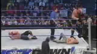 Rey Mysterio & John Cena Vs Chavo Guerrero & Big Show Part 1
