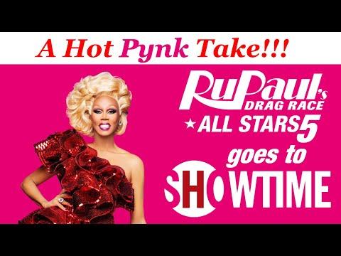 #DragRace #AllStars5 RuPaul's Drag Race All Stars Moves To ShoTime: A Hot Pynk Take