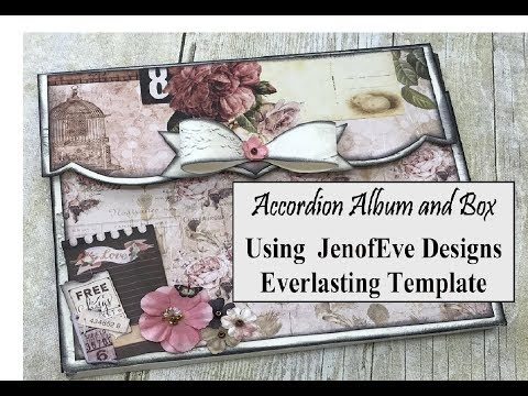 Easy Album and Box JenofEve Designs Design Team Project