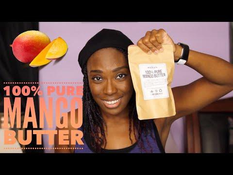 100% Pure Mango Butter Review (ft. Better Shea Butter)