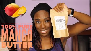 100% Pure Mango Butter Review (ft. Better Shea Butter)