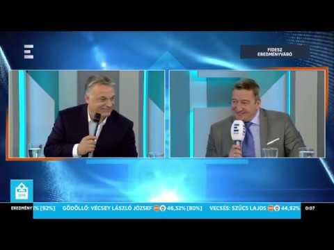 Orbán Viktor első nyilatkozata a választási győzelem után - ECHO TV