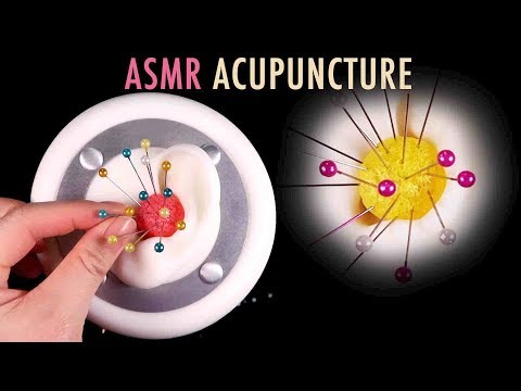 ASMR. Eardrum Acupuncture for Relaxation 👂🏻📌