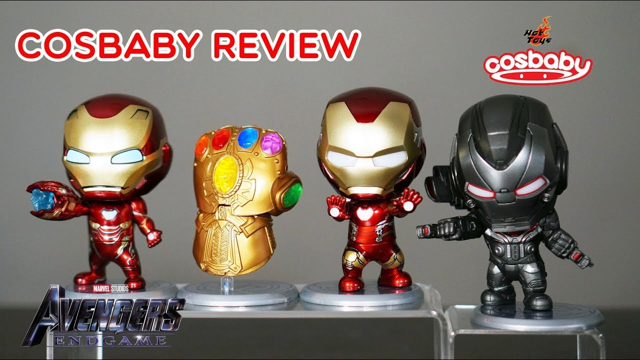 Battle Version Cos Baby Avengers End Game Iron Man Mark 85