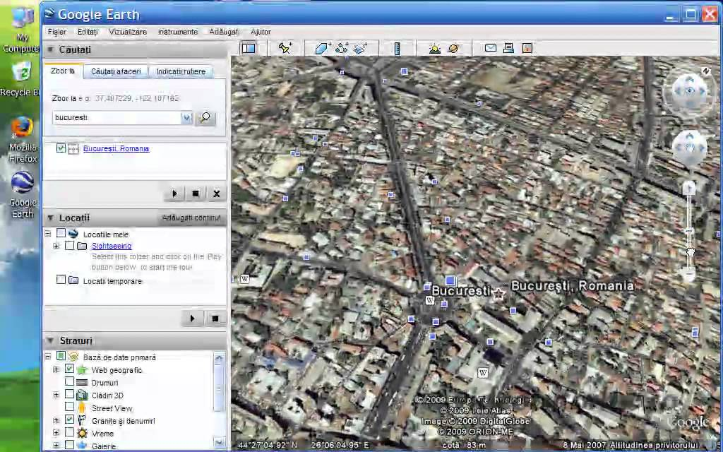 Cum Se Vede Lumea Din Satelit Cu Google Earth Youtube