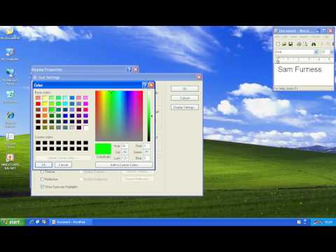 Windows XP Movie Sreen Saver
