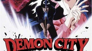 Demon City Shinjuku Anime Movie Review