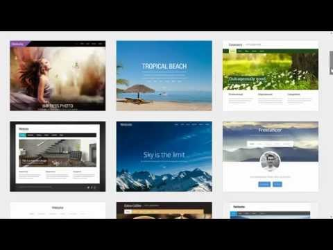 How to create a website quickly and easily