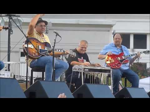 The Time Jumpers w/ Vince Gill at Nashville Walk of Fame 9-25-16